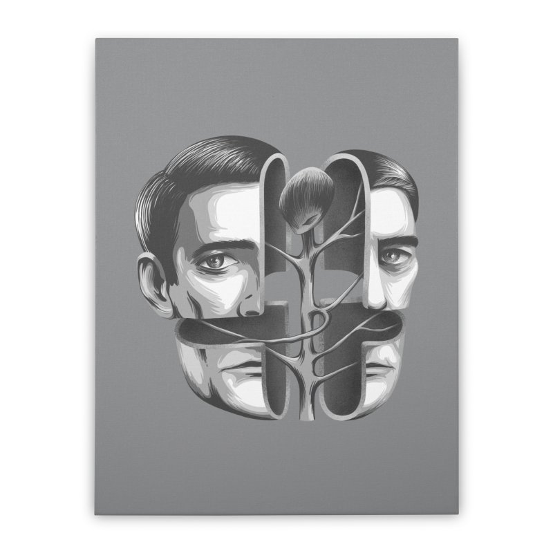 The Metamorphosis of Dale Cooper Home Stretched Canvas by Jana Artist Shop