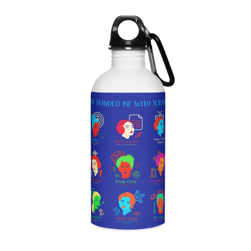She Blinded Me With Science Accessories Water Bottle by Jana Artist Shop