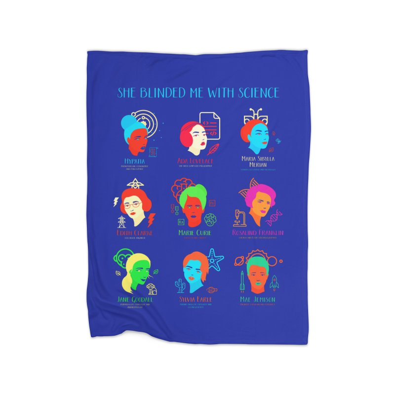 She Blinded Me With Science Home Blanket by Jana Artist Shop
