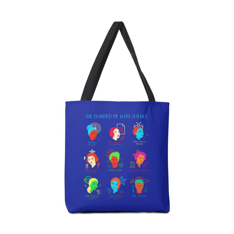 She Blinded Me With Science Accessories Bag by Jana Artist Shop