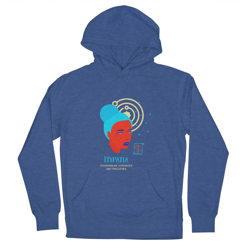 Hypatia Men's French Terry Pullover Hoody by Jana Artist Shop