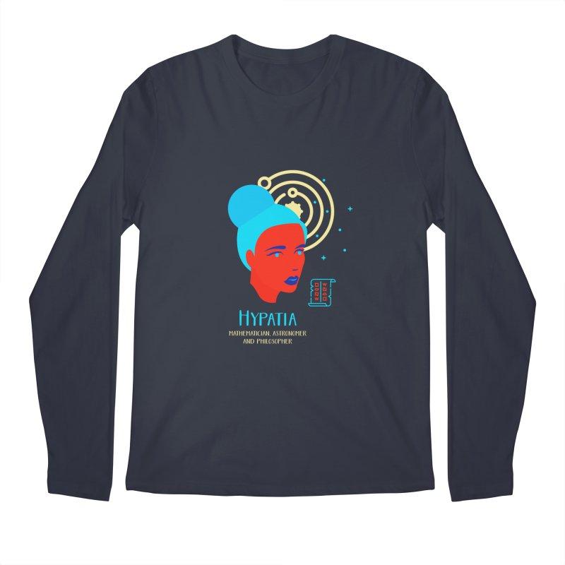 Hypatia Men's Regular Longsleeve T-Shirt by Jana Artist Shop