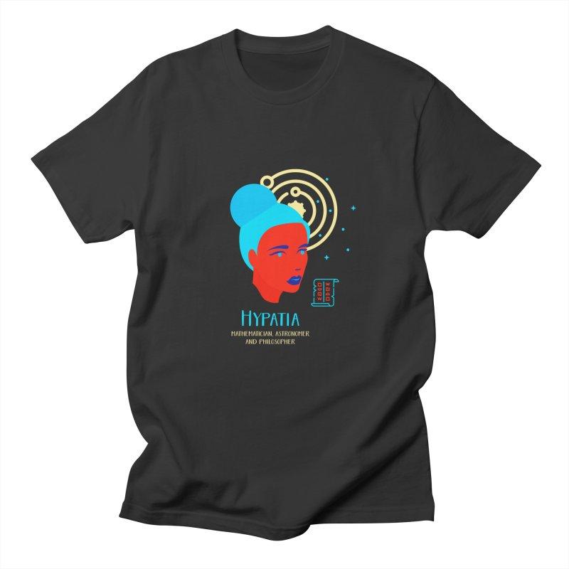 Hypatia Women's Regular Unisex T-Shirt by Jana Artist Shop