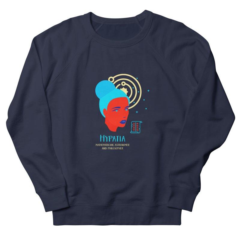 Hypatia Women's French Terry Sweatshirt by Jana Artist Shop