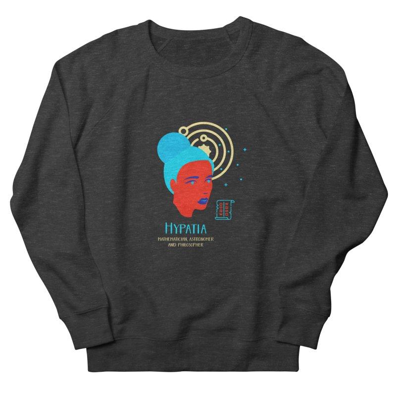 Hypatia Men's French Terry Sweatshirt by Jana Artist Shop