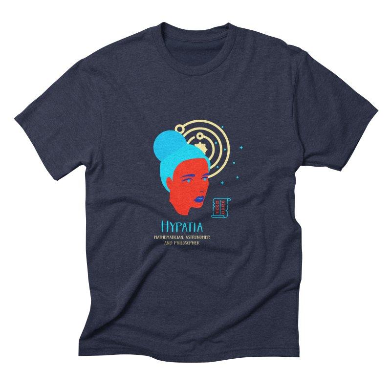 Hypatia Men's Triblend T-Shirt by Jana Artist Shop