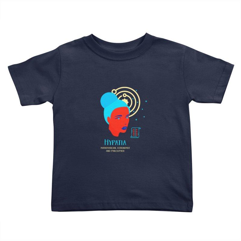 Hypatia Kids Toddler T-Shirt by Jana Artist Shop