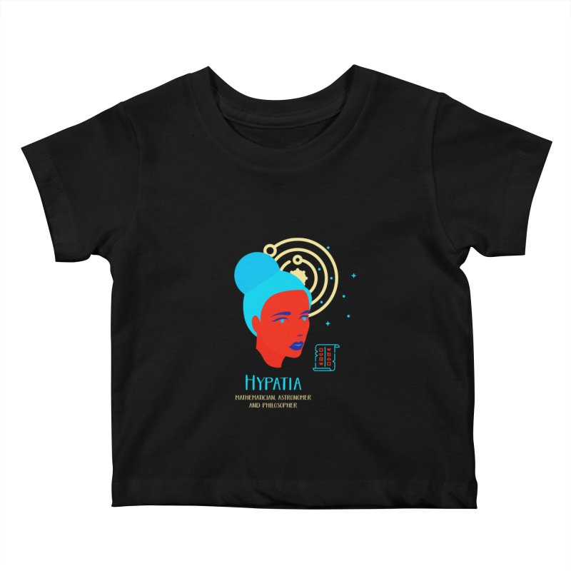 Hypatia Kids Baby T-Shirt by Jana Artist Shop