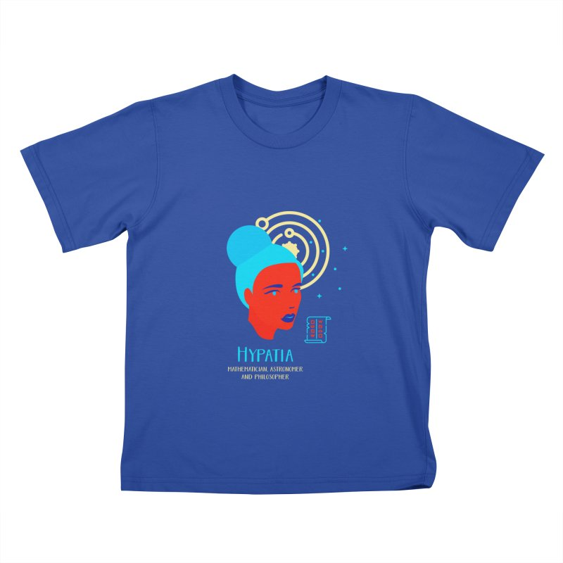 Hypatia Kids T-Shirt by Jana Artist Shop