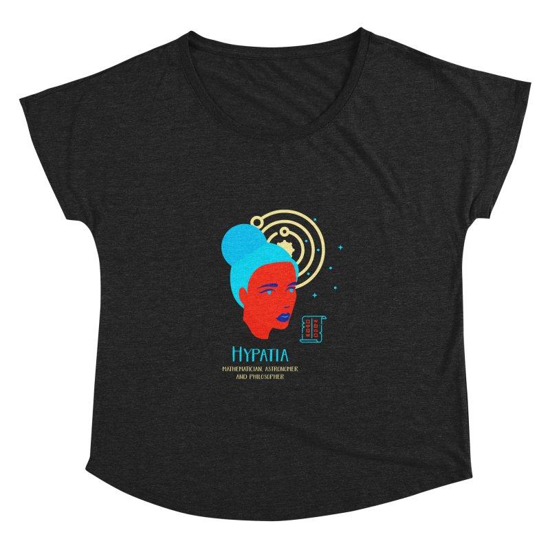 Hypatia Women's Dolman Scoop Neck by Jana Artist Shop
