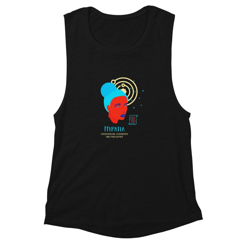 Hypatia Women's Muscle Tank by Jana Artist Shop