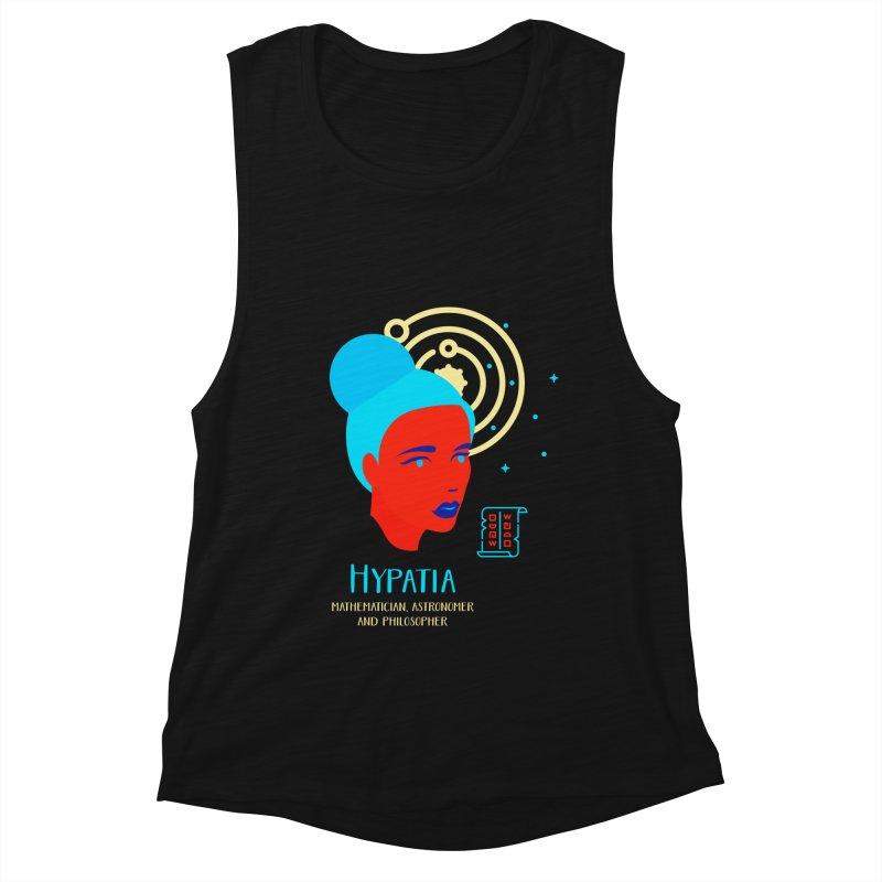 Hypatia Women's Muscle Tank by Jana Artist Shop