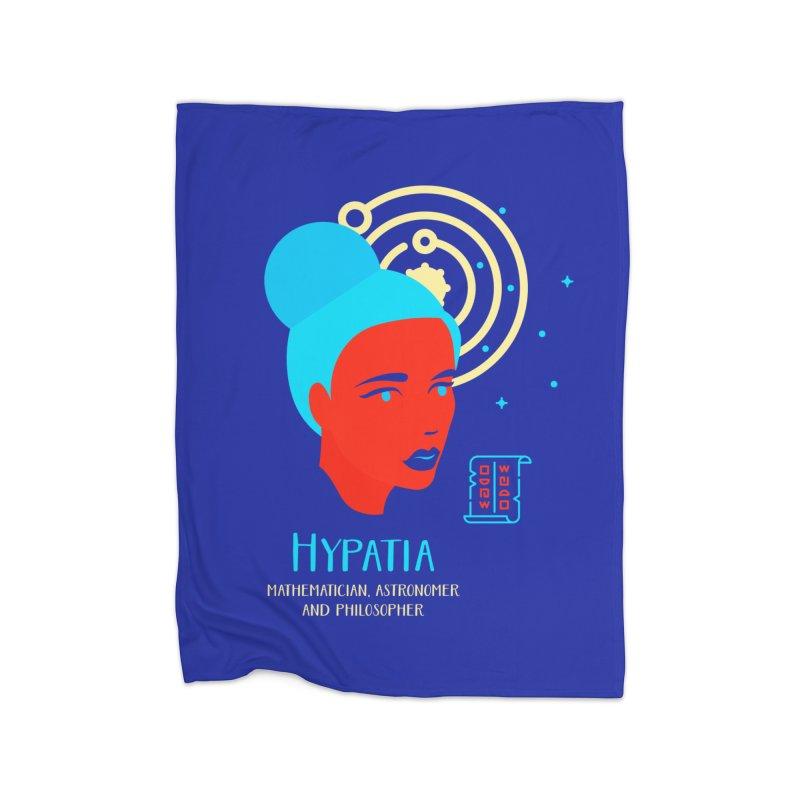 Hypatia Home Blanket by Jana Artist Shop