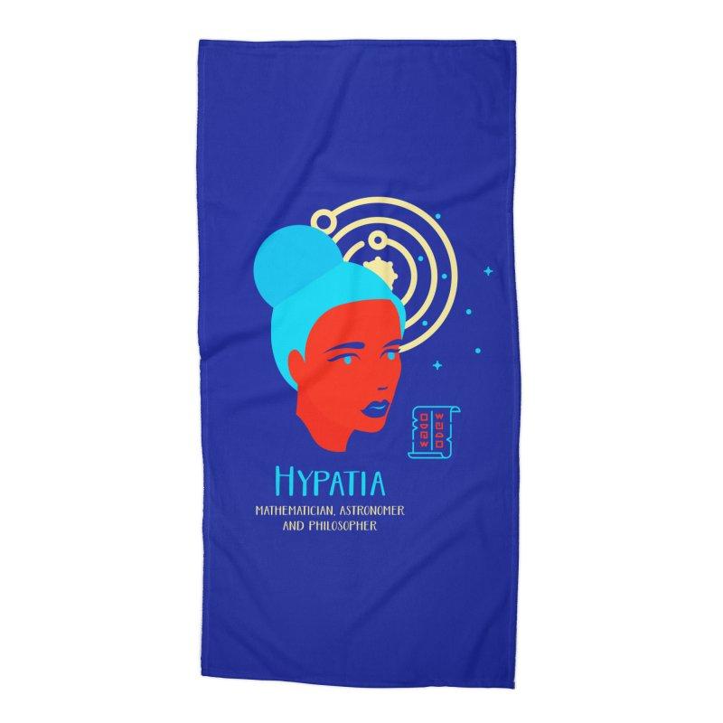 Hypatia Accessories Beach Towel by Jana Artist Shop