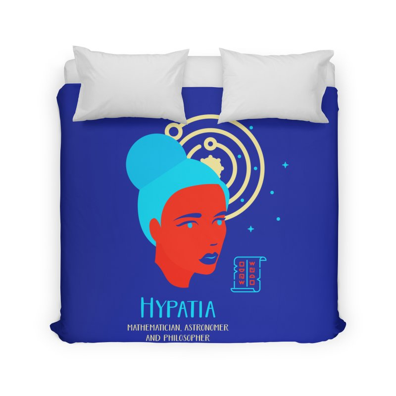 Hypatia Home Duvet by Jana Artist Shop