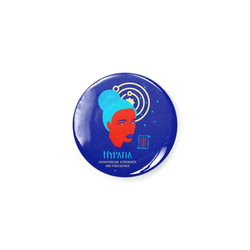Hypatia Accessories Button by Jana Artist Shop