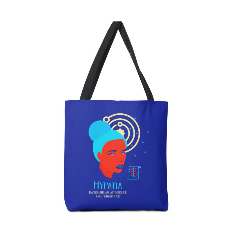 Hypatia Accessories Tote Bag Bag by Jana Artist Shop