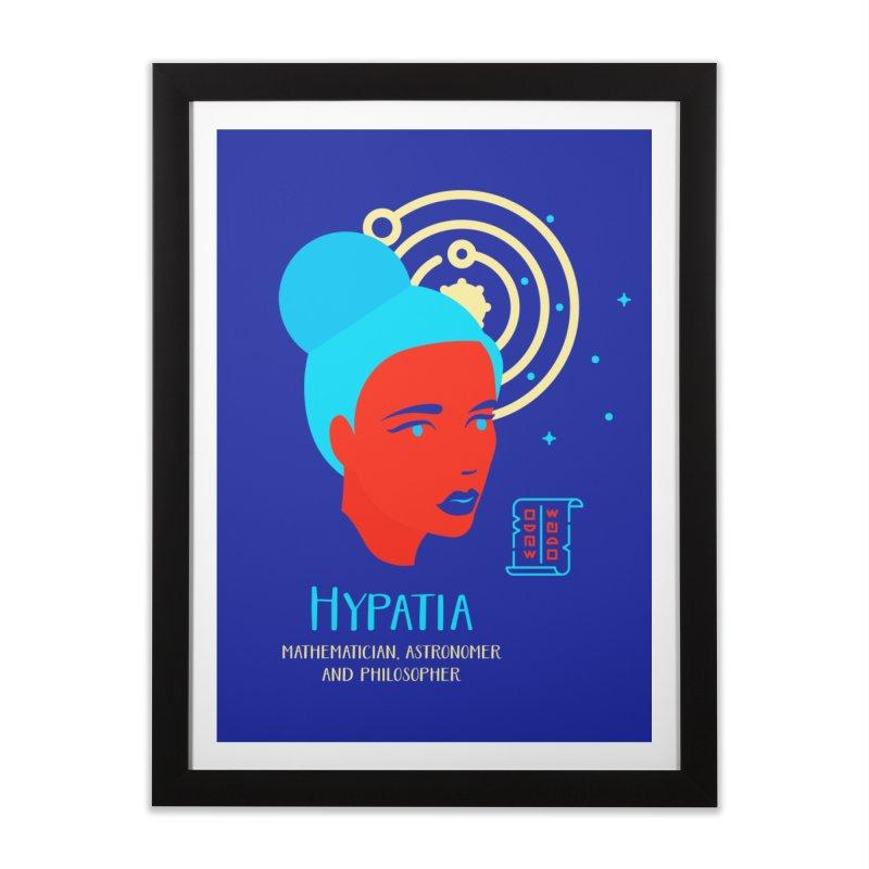 Hypatia Home Framed Fine Art Print by Jana Artist Shop