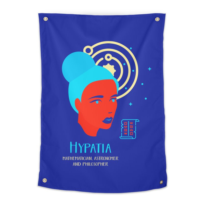 Hypatia Home Tapestry by Jana Artist Shop