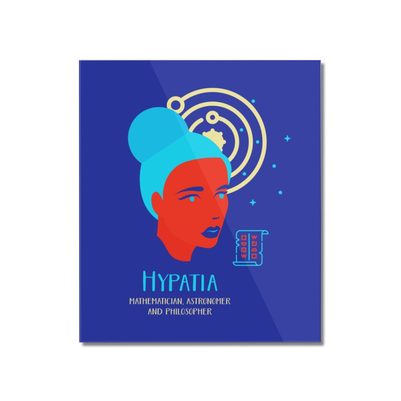 Hypatia Home Mounted Acrylic Print by Jana Artist Shop