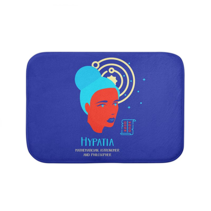 Hypatia Home Bath Mat by Jana Artist Shop