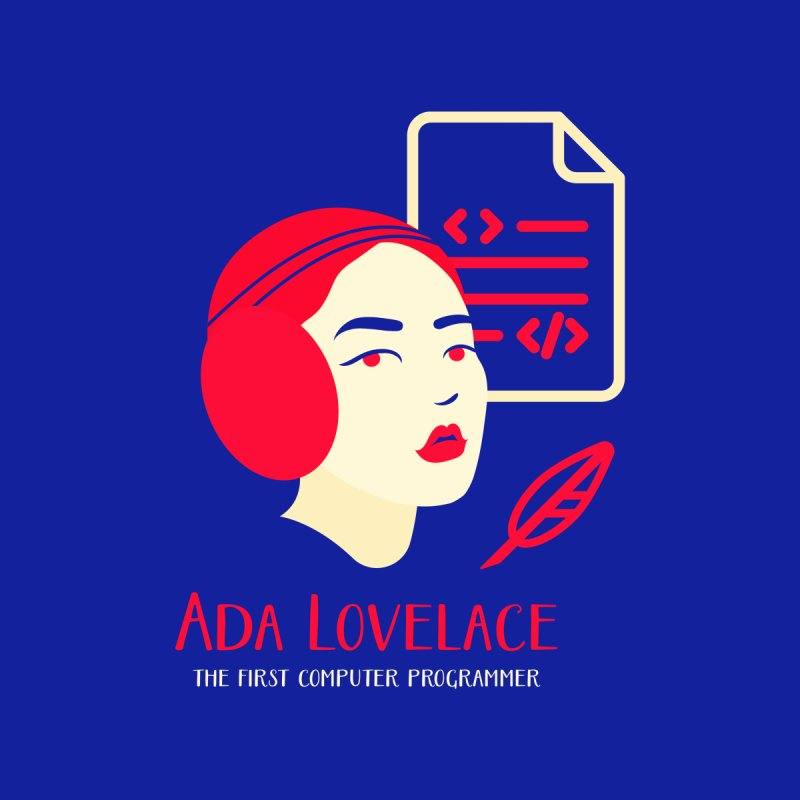 Ada Lovelace by Jana Artist Shop