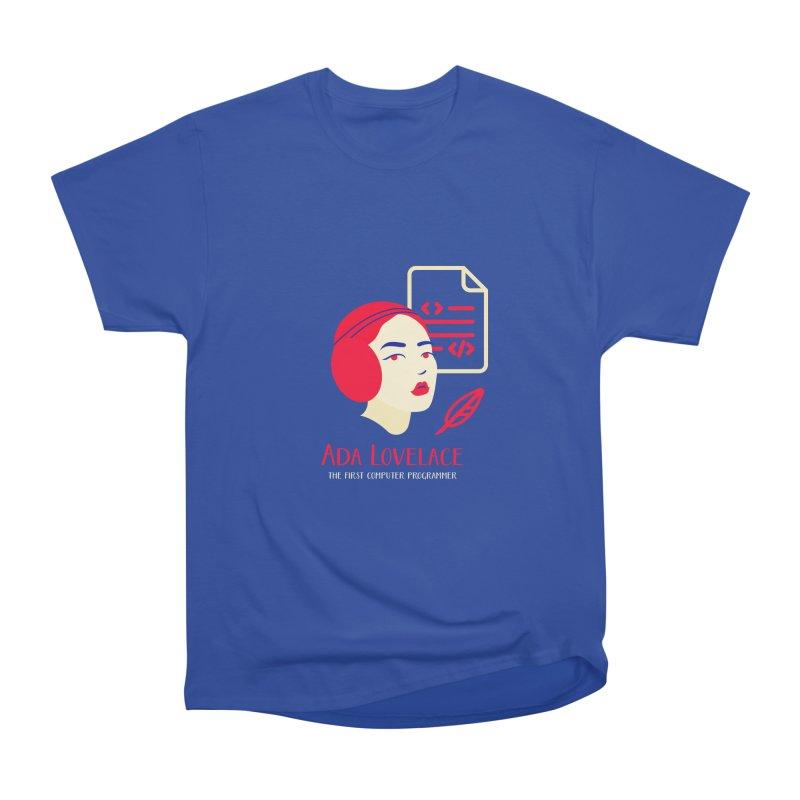 Ada Lovelace Men's Heavyweight T-Shirt by Jana Artist Shop