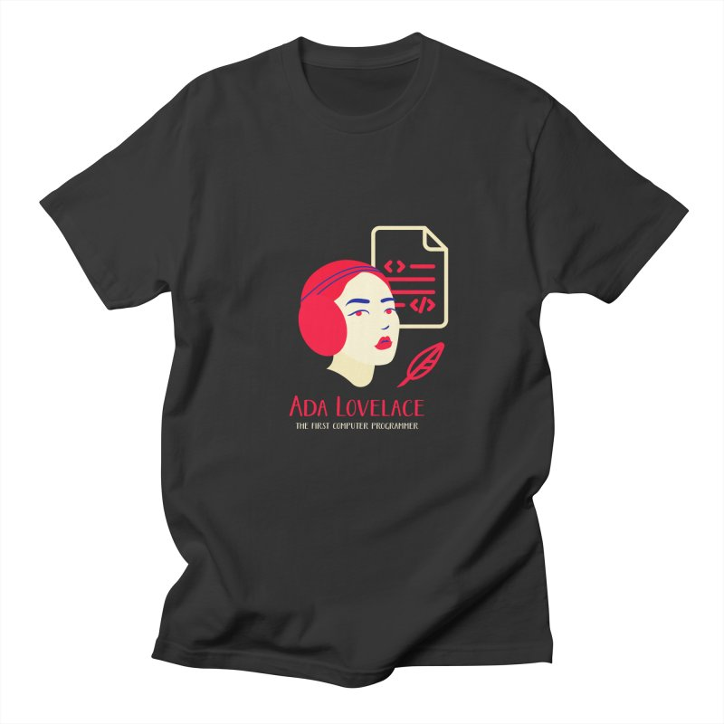 Ada Lovelace Women's Regular Unisex T-Shirt by Jana Artist Shop