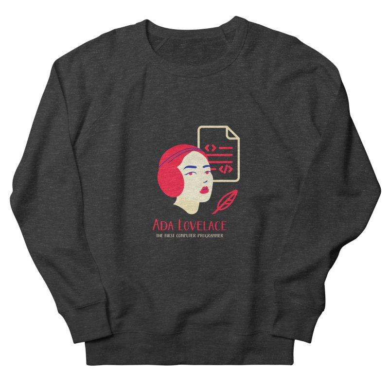 Ada Lovelace Women's French Terry Sweatshirt by Jana Artist Shop