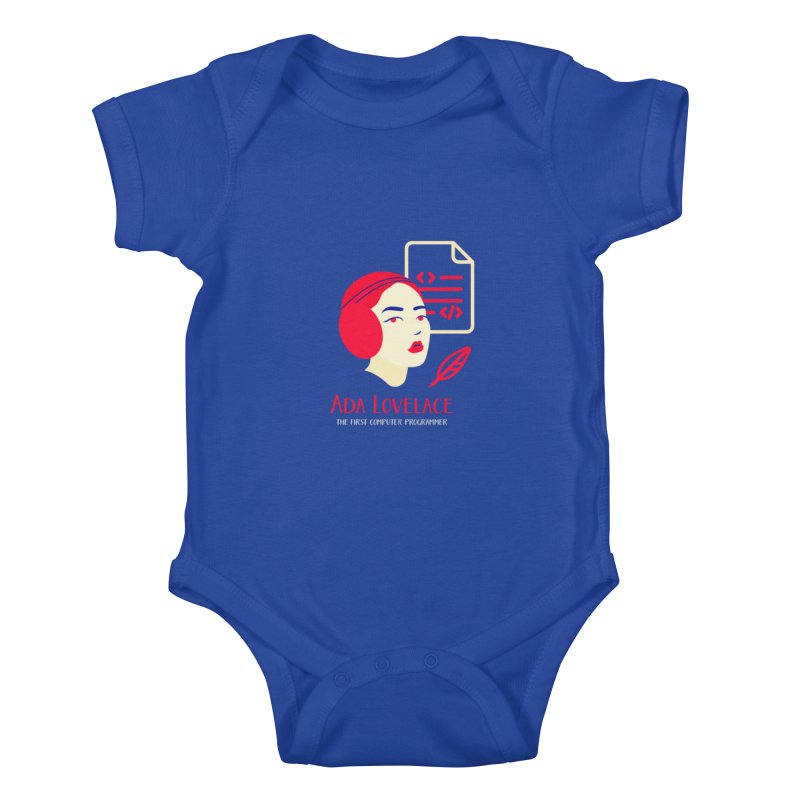 Ada Lovelace Kids Baby Bodysuit by Jana Artist Shop