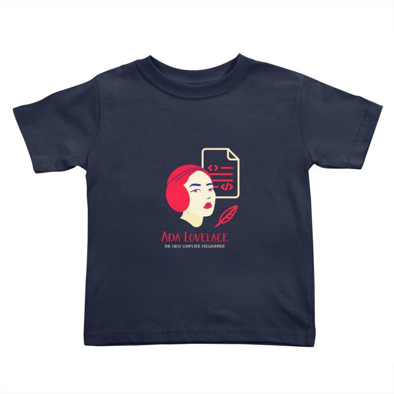 Ada Lovelace Kids Toddler T-Shirt by Jana Artist Shop