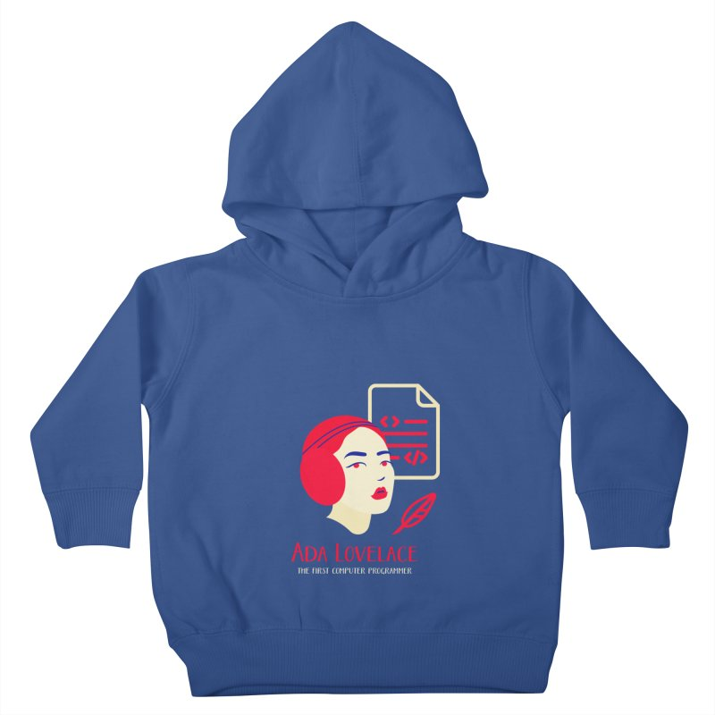 Ada Lovelace Kids Toddler Pullover Hoody by Jana Artist Shop
