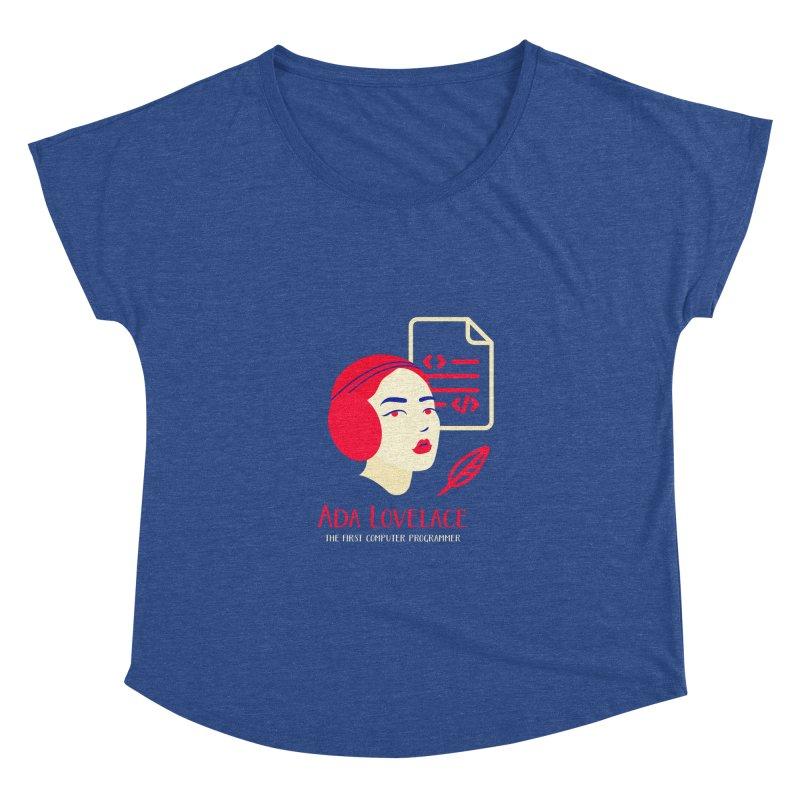 Ada Lovelace Women's Dolman Scoop Neck by Jana Artist Shop