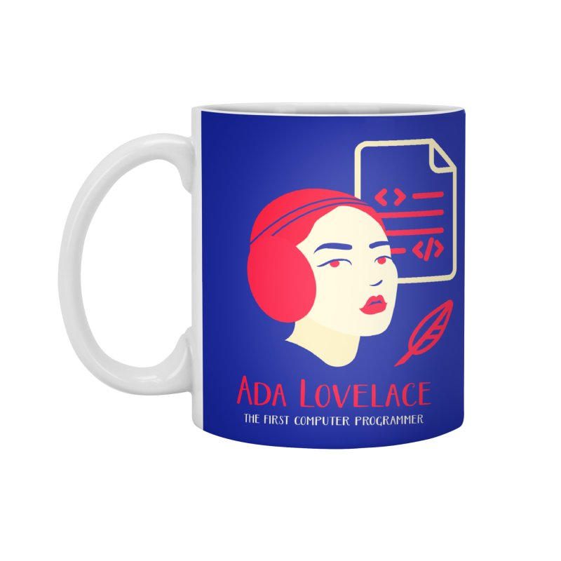 Ada Lovelace Accessories Standard Mug by Jana Artist Shop