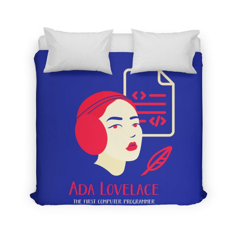 Ada Lovelace Home Duvet by Jana Artist Shop