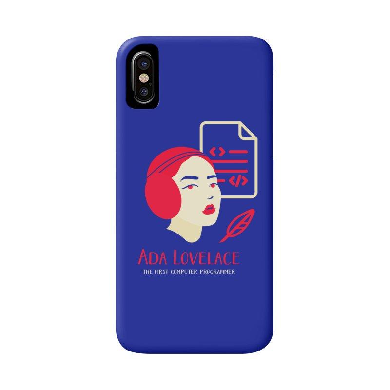 Ada Lovelace Accessories Phone Case by Jana Artist Shop