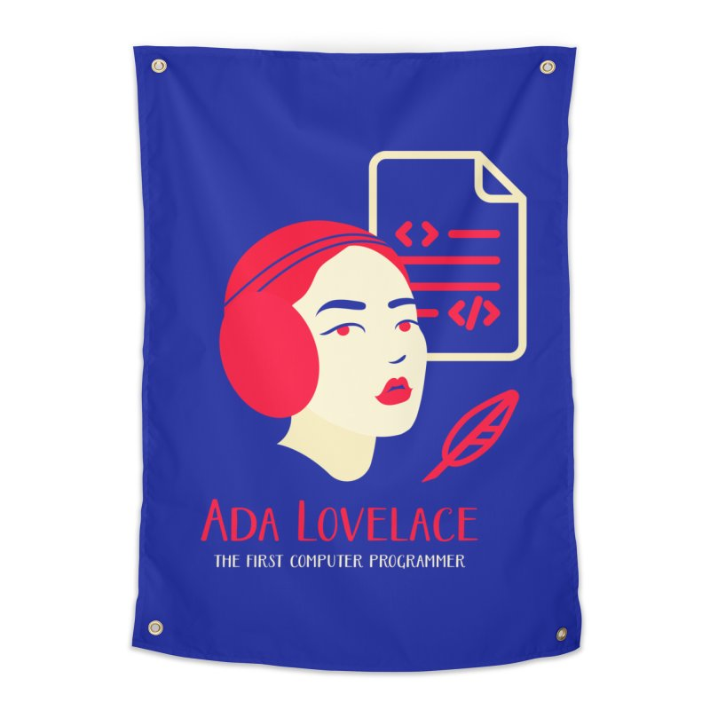 Ada Lovelace Home Tapestry by Jana Artist Shop