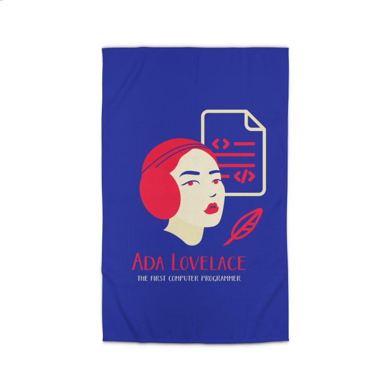 Ada Lovelace Home Rug by Jana Artist Shop