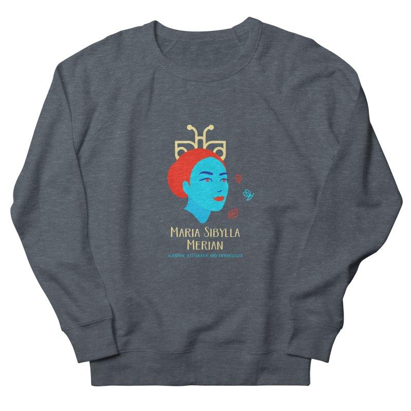 Maria Sibylla Merian Men's French Terry Sweatshirt by Jana Artist Shop