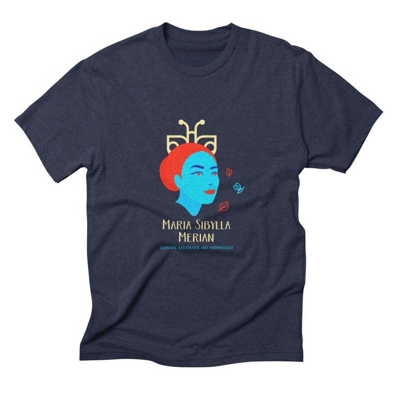 Maria Sibylla Merian Men's Triblend T-Shirt by Jana Artist Shop