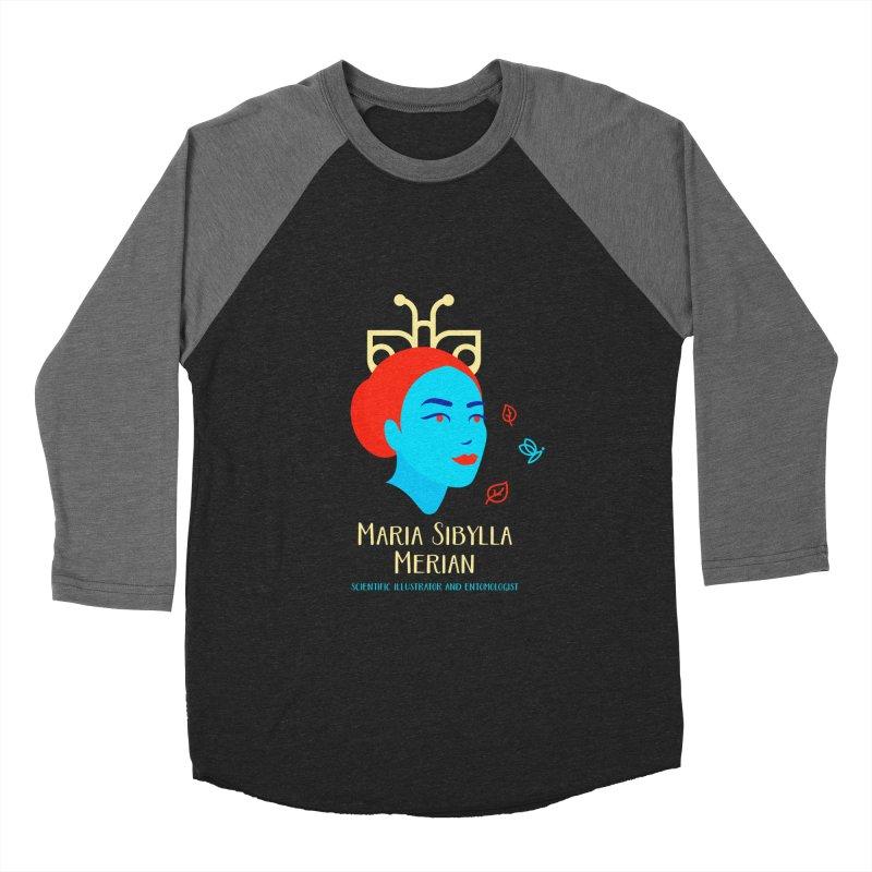Maria Sibylla Merian Women's Baseball Triblend Longsleeve T-Shirt by Jana Artist Shop