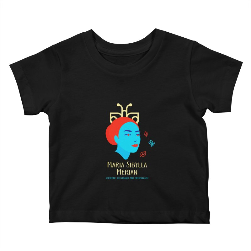 Maria Sibylla Merian Kids Baby T-Shirt by Jana Artist Shop