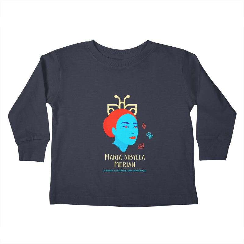 Maria Sibylla Merian Kids Toddler Longsleeve T-Shirt by Jana Artist Shop