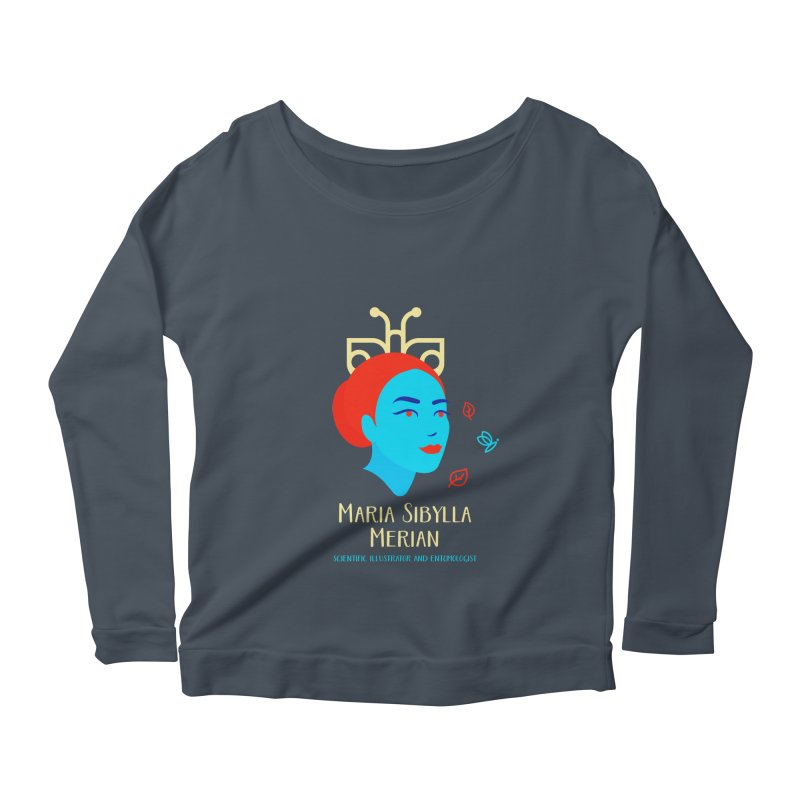 Maria Sibylla Merian Women's Scoop Neck Longsleeve T-Shirt by Jana Artist Shop