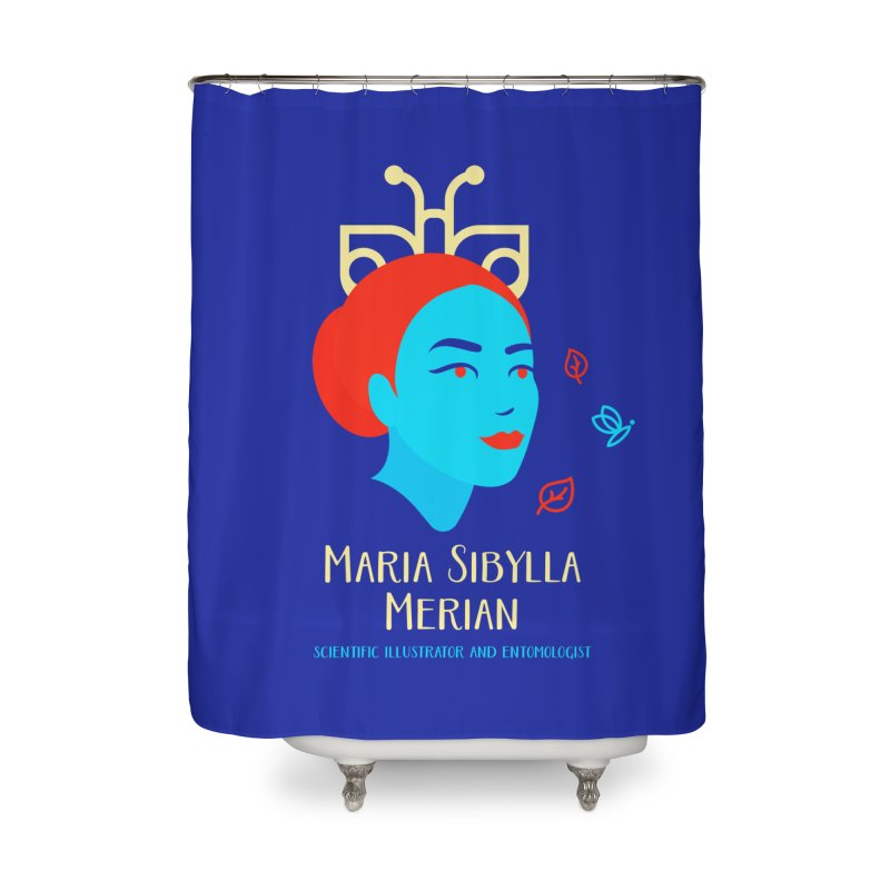 Maria Sibylla Merian Home Shower Curtain by Jana Artist Shop