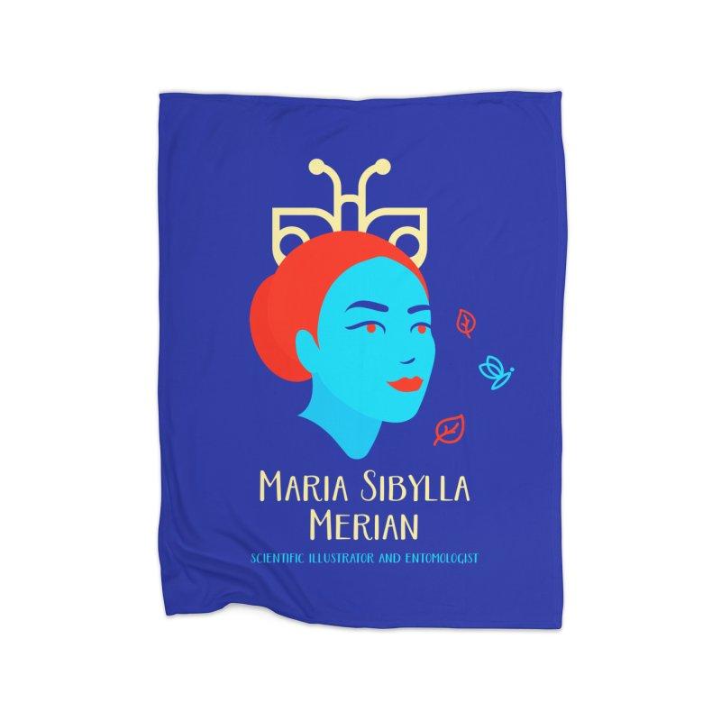 Maria Sibylla Merian Home Blanket by Jana Artist Shop