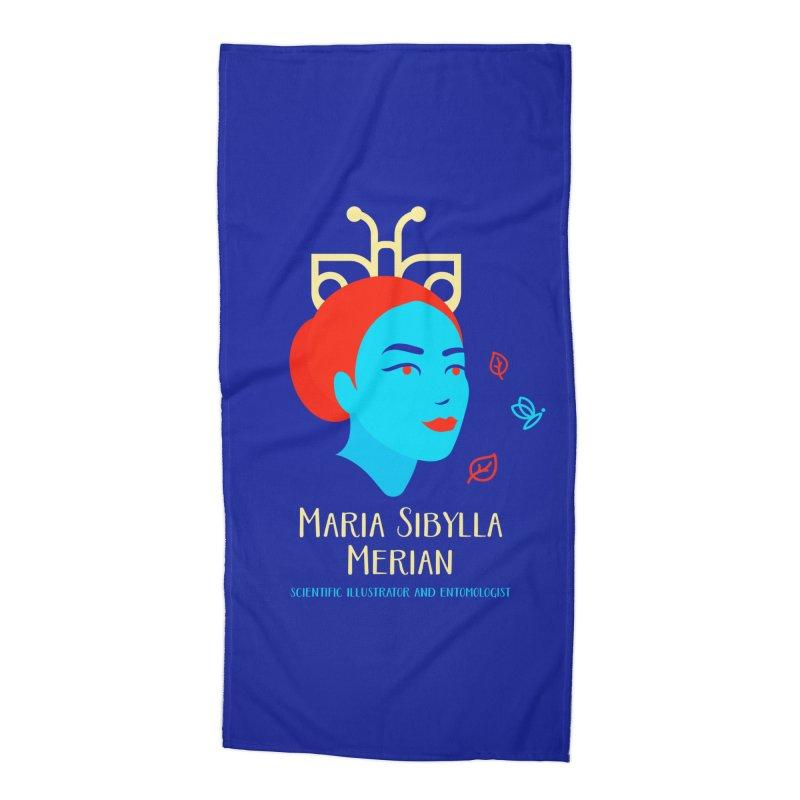 Maria Sibylla Merian Accessories Beach Towel by Jana Artist Shop