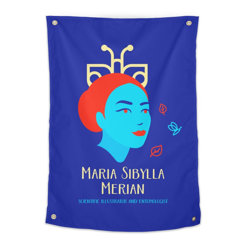 Maria Sibylla Merian Home Tapestry by Jana Artist Shop