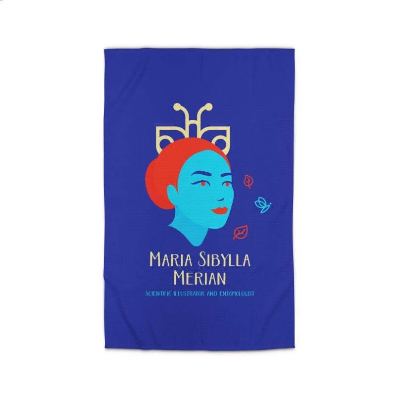 Maria Sibylla Merian Home Rug by Jana Artist Shop