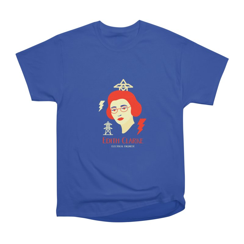 Edith Clarke Women's Classic Unisex T-Shirt by Jana Artist Shop